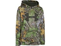 Under Armour Youth UA Camo Big Logo Hoodie Polyester Mossy Oak Obsession Medium