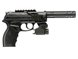 Crosman C11 Tatical Air Pistol .177 Caliber CO2 Semi-Automatic Polymer Stock Black