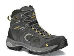 "Vasque Breeze GTX 2.0 5"" Waterproof Uninsulated Hiking Boots Leather Castlerock and Solar Power Men's"