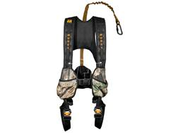 Muddy Outdoors The Crossover Treestand Safety Harness Combo Nylon Camo