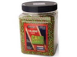 Crosman Airsoft BBs 6mm .12 Gram Camo Ammo Package of 10,000