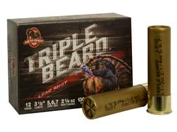 "Hevi-Shot Triple Beard Turkey Ammunition 12 Gauge 3-1/2"" 2-1/4 oz #5, #6, & #7 Shot Box of 10"