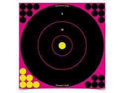 "Birchwood Casey Shoot-N-C Pink Target 12"" Bullseye"