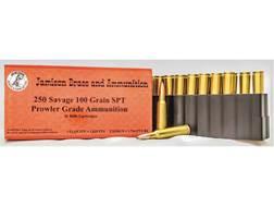 Jamison Ammunition 250 Savage 100 Grain Spitzer Box of 20