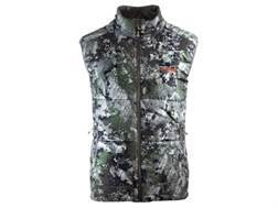 Sitka Gear Men's Kelvin Insulated Vest Polyester Gore Optifade Elevated Forest Camo 2XL 50-53