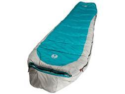 Coleman Silverton 350 0 Degree Mummy Sleeping Bag Polyester Blue and Silver