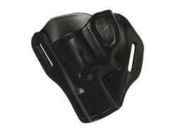 """Bianchi 58 P.I. Belt Slide Holster S&W J frame 2"""" Leather"""