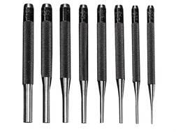 General Tools Drive Pin Punch Set 8-Piece Steel