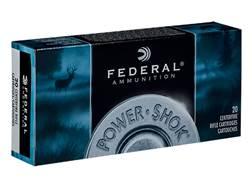 Federal Power-Shok Ammunition 25-06 Remington 117 Grain Speer Hot-Cor Soft Point Box of 20