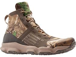 """Under Armour UA SpeedFit 5.5"""" Hiking Boots Synthetic and Rubber Realtree Xtra and Brown Men's"""