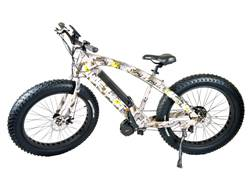 QuietKat 750 Watt Motorized FatKat Bike