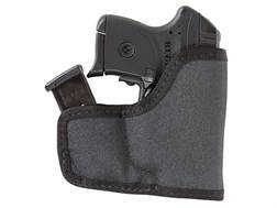 Tuff Products Pocket-Roo Pocket Handgun/Magazine Holster Ambidextrous Ruger LCP, KAHR P380, Keltec P32, 3AT, Colt Pony with Crimson Trace Laser Grips Laminate Black