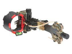 "Archer Xtreme Carbon Carnivore 5-Pin Bow Sight .019"" Diameter Pins Realtree APG Camo"