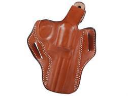 "DeSantis Thumb Break Scabbard Belt Holster Right Hand S&W L-Frame 386PD, 581, 586, 681, 686 4"" Barrel Leather Tan"