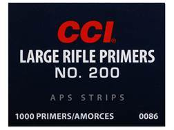 CCI Large Rifle APS Primers Strip #200 Case of 5000 (5 Boxes of 1000)