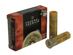 "Federal Premium Vital-Shok Ammunition 20 Gauge 3"" 1 oz TruBall Hollow Point Rifled Slug Box of 5"