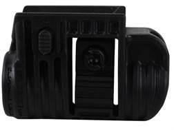 "Mako Picatinny Rail Flashlight Mount 3/4"" Ring Diameter Polymer Black"