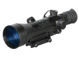ATN Night Arrow 4-CGT Generation Night Vision Rifle Scope 4x Illuminated Red Duplex Reticle with Integral Weaver-Style Mount Matte
