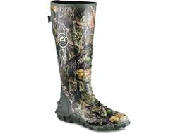 "Irish Setter Rutmaster 2.0 Lite 17"" Uninsulated Hunting Boots Rubber Clad Neoprene Mossy Oak Break-U"