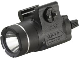Streamlight TLR-3 Weaponlight LED with 1 CR123A Battery fits Picatinny or Glock-Style Rails Polymer