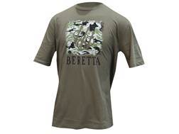 Beretta Men's Sport Safari T-Shirt Short Sleeve Cotton