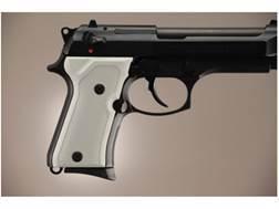 Hogue Extreme Series Grip Beretta 92FS Compact Checkered Aluminum Matte