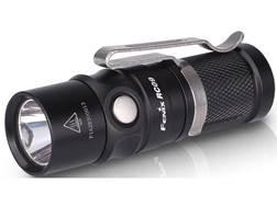 Fenix RC09 Flashlight LED with 16340 Li-ion Rechargeable Battery Aluminum Black