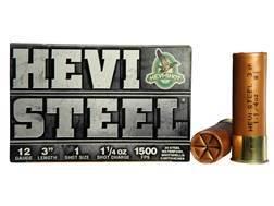 "Hevi-Shot Hevi-Steel Waterfowl Ammunition 12 Gauge 3"" 1-1/4 oz #1 Non-Toxic Shot"