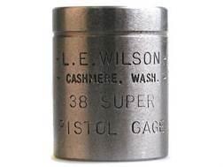 L.E. Wilson Max Cartridge Gage 38 Super