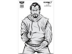 "Birchwood Casey Eze-Scorer BC Bad Guy Targets 12"" x 18"" Package of 10"