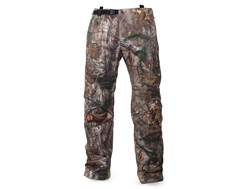 First Lite Men's Scent Control Boundary Stormtight Waterproof Pants Synthetic Blend Realtree Xtra XL 37-40