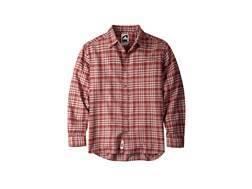 Mountain Khakis Men's Peden Plaid Flannel Shirt Long Sleeve Cotton