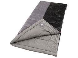 "Coleman Biscayne 40-60 Degree Tall Sleeping Bag 39"" x 84"" Polyester Gray and Black"