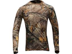 First Lite Women's Lupine Crew Shirt Long Sleeve Merino Wool Realtree Xtra Camo