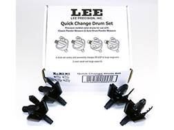 Lee Quick Change Powder Measure Drum Set