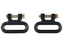 """The Outdoor Connection Titan Q-R Detachable Sling Swivels 1"""" Stainless Steel (1 Pair)"""