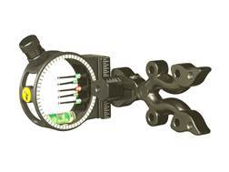 "Trophy Ridge Punisher 5-Pin Bow Sight with Light .029"" Pin Diameter Black"
