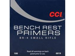 CCI Small Rifle Bench Rest Primers #BR4