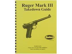 "Radocy Takedown Guide ""Ruger Mark 3"""