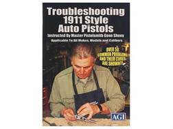 "American Gunsmithing Institute (AGI) Video ""Trouble-Shooting the 1911 .45 Auto Style Pistol with Gene Shuey"" DVD"