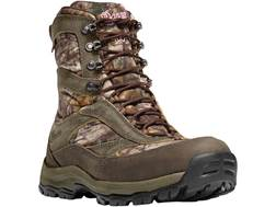 "Danner High Ground 8"" 400 Gram Insulated Waterproof Hunting Boots Leather and Nylon Realtree Xtra..."