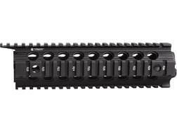 "Troy Industries 9"" Enhanced Drop-In Battle Rail 2-Piece Quad Rail Handguard AR-15 Mid Length Black"