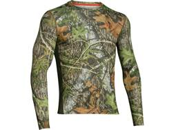 Under Armour Men's Scent Control Nutech Shirt Long Sleeve Polyester