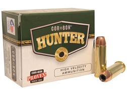 Cor-Bon Hunter Ammunition 44 Remington Magnum 280 Grain Swift A-Frame Box of 20