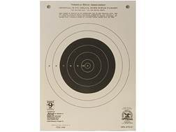 Hoppe's Single Bull Target 50 Yard Rifle Package of 20