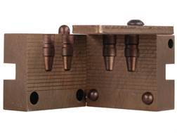 Saeco 2-Cavity Bullet Mold #930 38 Super (356 to 357 Diameter) 154 Grain Semi-Wadcutter Bevel Base
