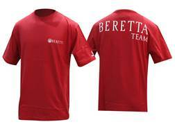 Beretta Team Short Sleeve T-Shirt Cotton Red XL