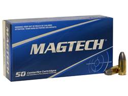 Magtech Sport Ammunition 9mm Luger 124 Grain Lead Round Nose