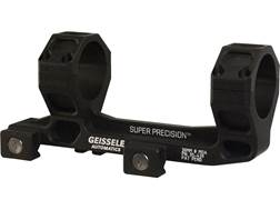 Geissele Super Precision Cantilever Mount with Integral 30mm Rings 7075-T6 Aluminum Black