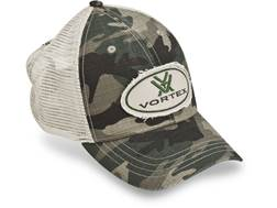 Vortex Optics Camo Mesh Trucker Cap Cotton/Polyester Camo One Size Fits Most